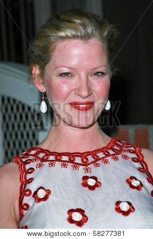 Gretchen Mol at the Oscar De La Renta Boutique Opening Benefiting EIF Women's Cancer Research Fund. Saks Fifth Avenue, Beverly Hills, CA. 04-18-07