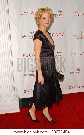 Nicki Aycox at an Escada 2007 Fall Winter Sneak Preview to Benefit Step Up Women's Network. Beverly Hills Hotel, Beverly Hills, CA. 04-19-07