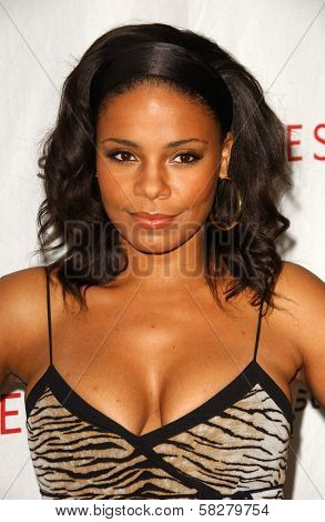 Sanaa Lathan at an Escada 2007 Fall Winter Sneak Preview to Benefit Step Up Women's Network. Beverly Hills Hotel, Beverly Hills, CA. 04-19-07