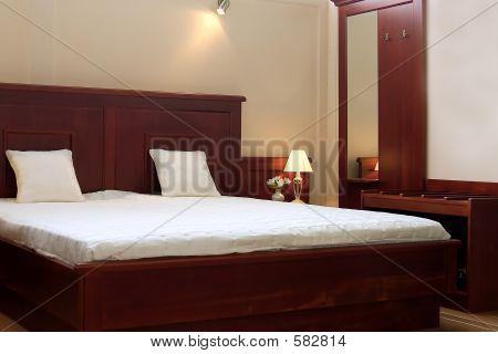 Wood Cherry Bedroom