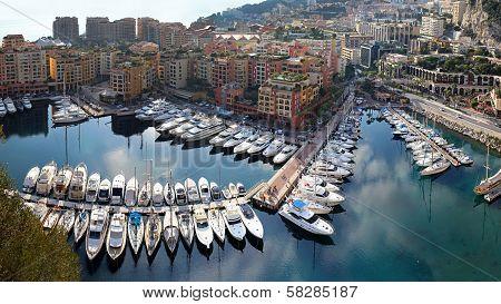 Fontvieille Harbour Monaco