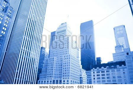 NYC's hohen Gebäuden