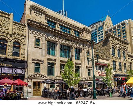 Stephen Avenue in Calgary