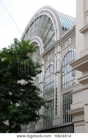 Floral Hall of the Royal Opera House, Covent Garden, London