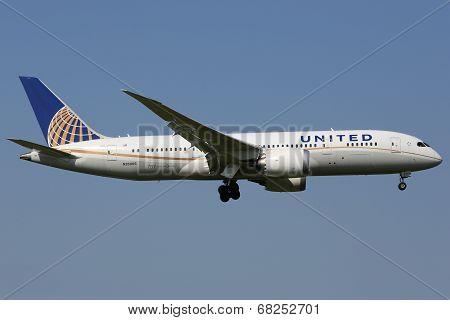 United Airlines Boeing 787 Dreamliner