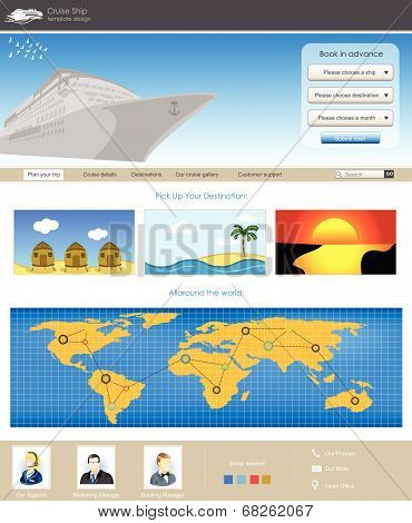Website Template 75