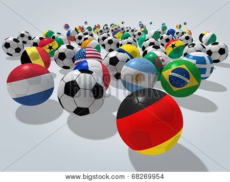Soccer Balls Concept
