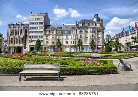 Place Des Martyrs, Luxembourg