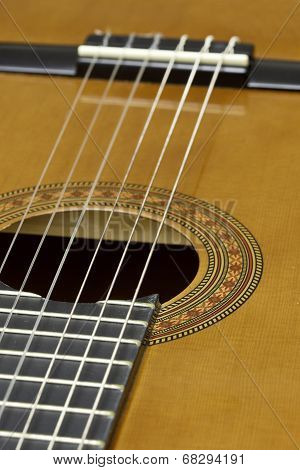 Acoustic Six String Guitar