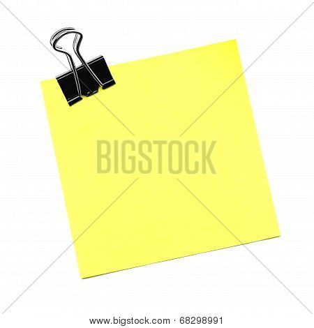 Post note isolated