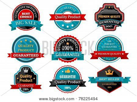 Quality guarantee retro labels collection