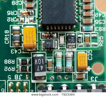 Chipset On Micro Circuit Board