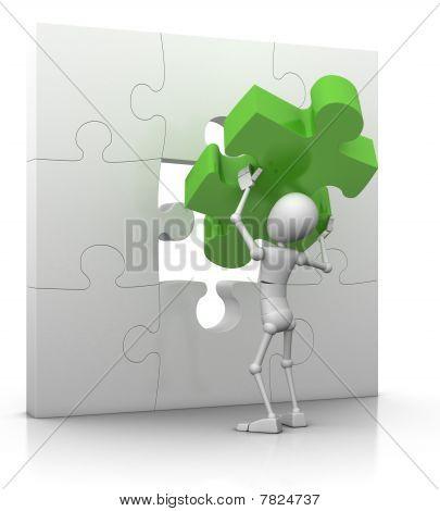 The Last Puzzle Piece - Solution Concept