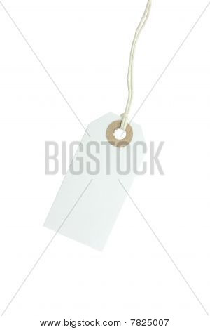 White Paper Tag