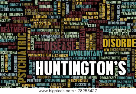 Huntington's or Huntingtons Disease as a Medical Diagnosis