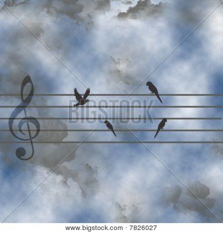 The celestial music