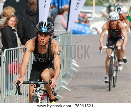 Andrea Hewitt Cycling After The Transition Zone