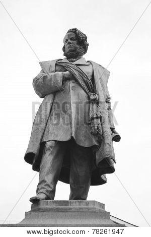 Statue Of Daniele Manin In Venice