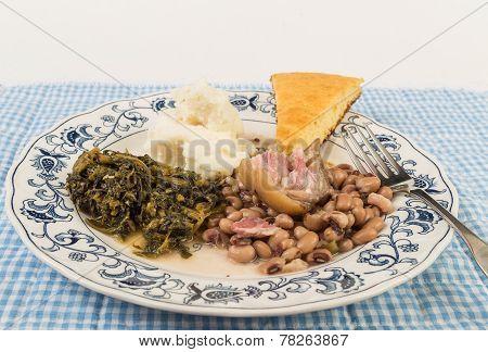 High Cholesterol Soul Food Supper