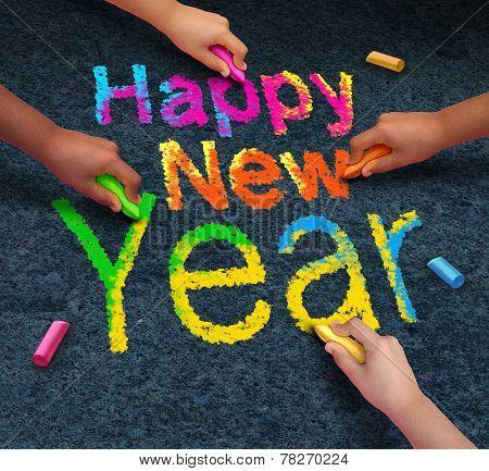 Happy New Year Friends