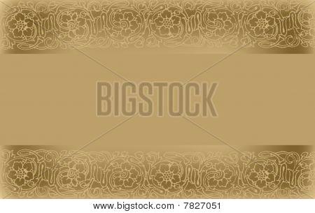 Golden wedding background