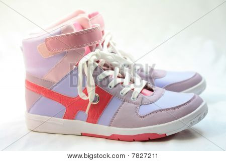 Pair Of Fashion Sneakers