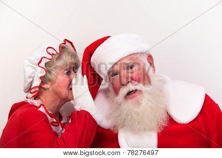 Mrs Claus Tells Secret