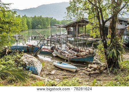 Old Abandoned Fishermens Village