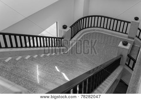 Stair Step And Bannister