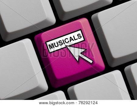 Computer Keyboard: Musicals
