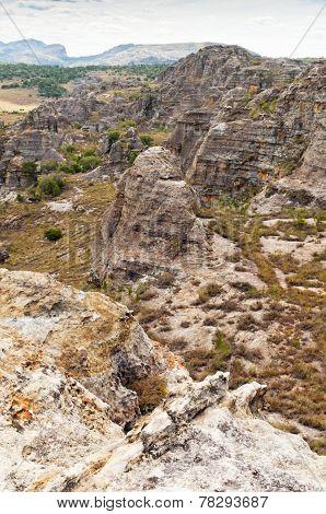 Rock Formations, Isalo National Park, Madagascar