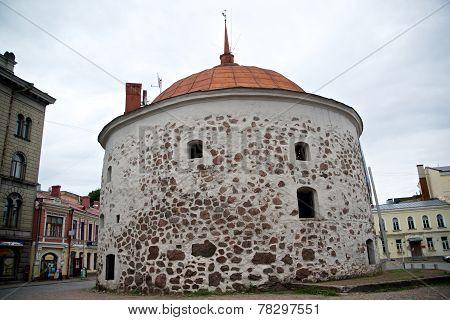 Round Tower Of Vyborg