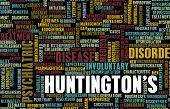 Huntington's or Huntingtons Disease as a Medical Diagnosis poster