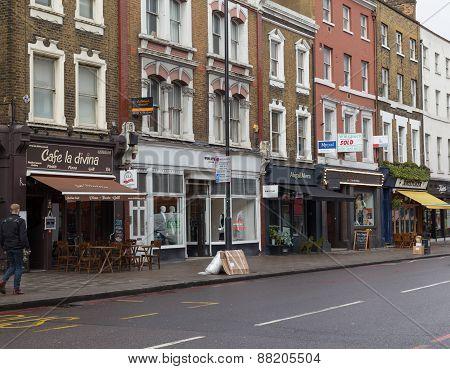 Upper Street In London