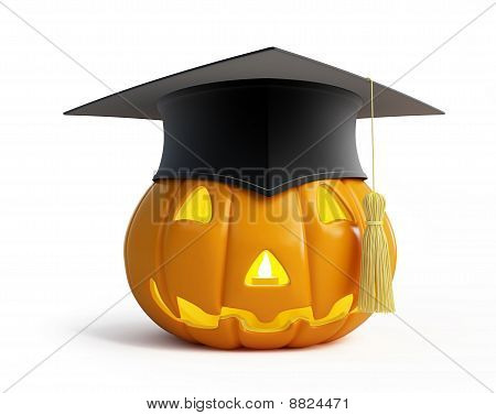 Halloween Graduation Cap
