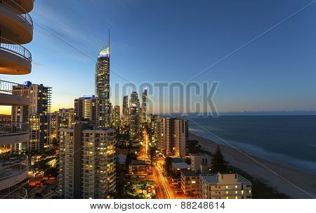 Surfers Paradise Twilight