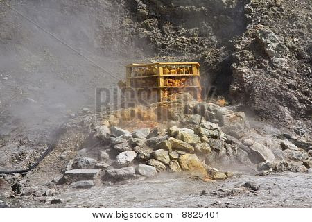 Steaming Fumerole