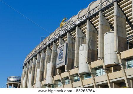 Santiago Bernabeu Stadium Facade