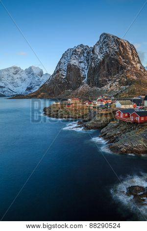 Reine, fishing towns in norway