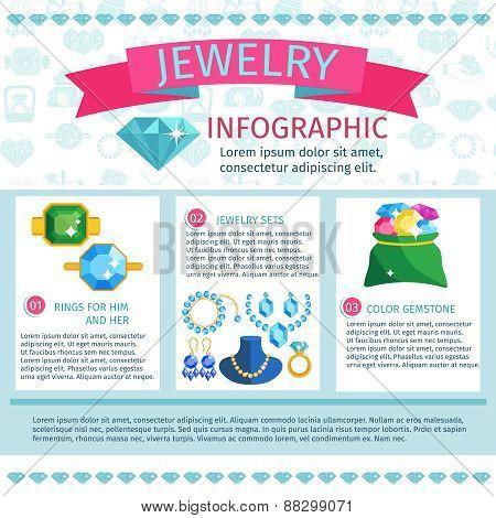Precious Jewels Infographics