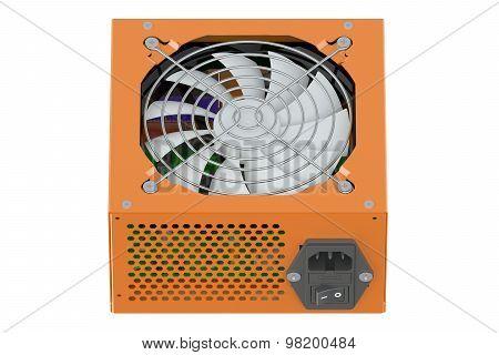 Orange Power Supply Unit