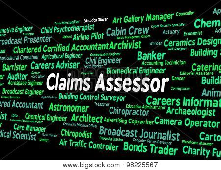 Claims Assessor Means Text Assessors And Words