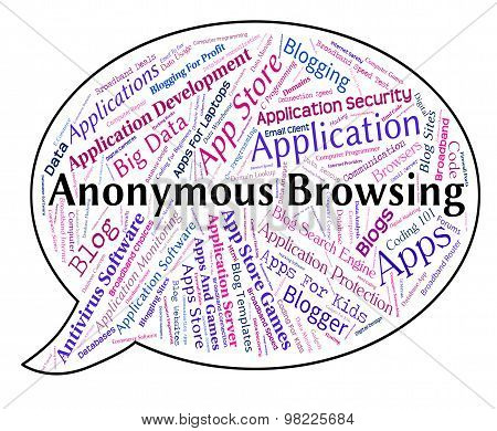 Anonymous Browsing Representing Unknown Web And Webpage poster