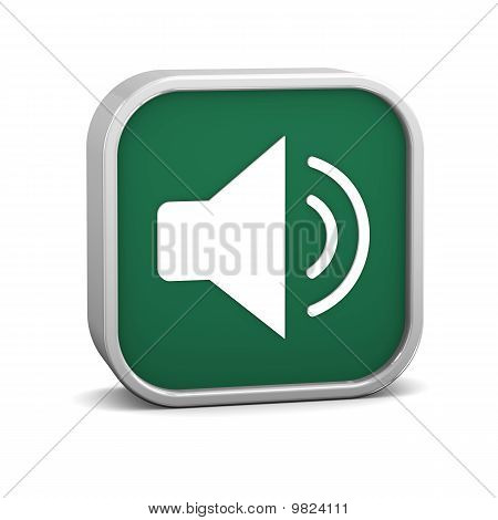 Green Enable Audio Sign
