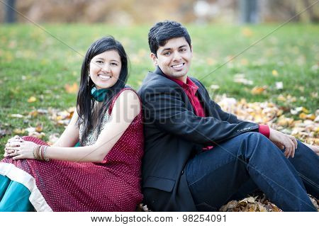 Young Happy Indian Couple