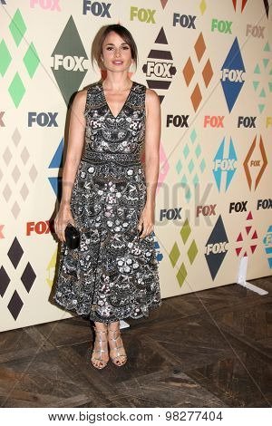 LOS ANGELES - AUG 6:  Mia Maestro at the FOX Summer TCA All-Star Party 2015 at the Soho House on August 6, 2015 in West Hollywood, CA