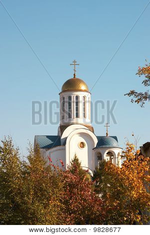 temple of Dormition of Presvyatoy our Lady