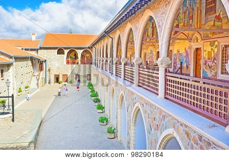 In Monastery