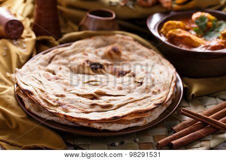 Indian Prata Bread