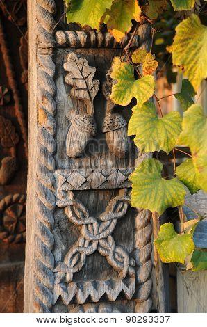 Autumn And Architecture